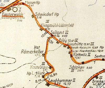 Schipkau Finsterwalder Eisenbahn